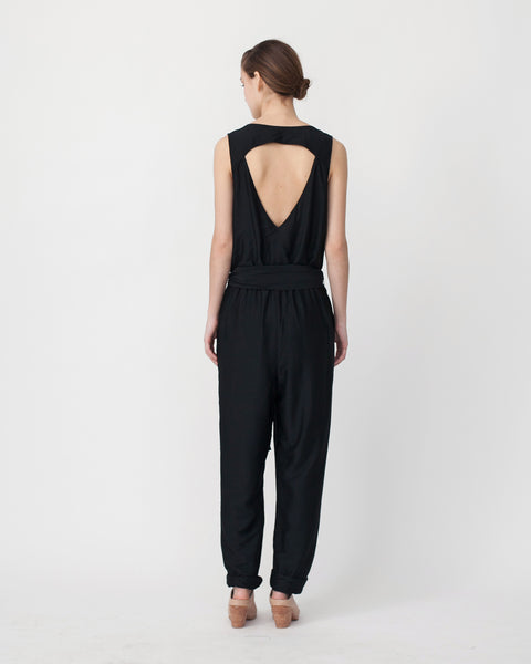Victoire Jumpsuit in Black - Founders & Followers - Sessun - 3