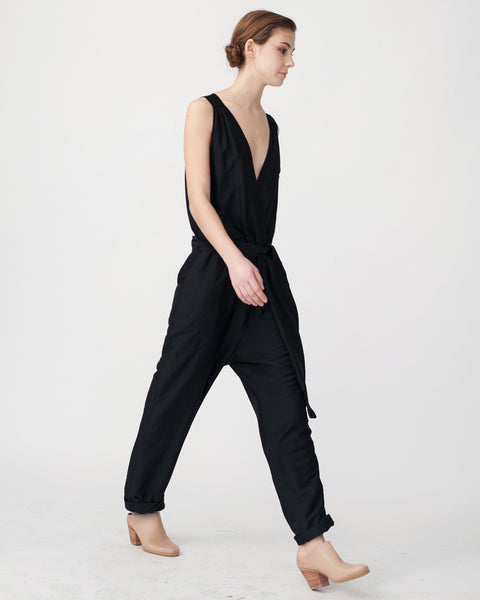 Victoire Jumpsuit in Black - Founders & Followers - Sessun - 4