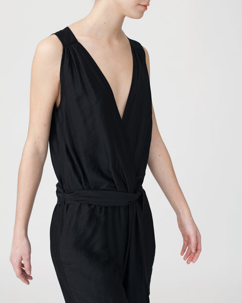 Victoire Jumpsuit in Black - Founders & Followers - Sessun - 6