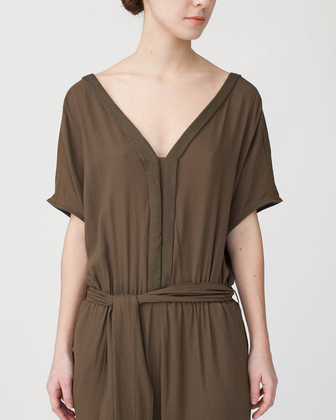 Mara Jumpsuit in Khaki - Founders & Followers - Sessun - 7