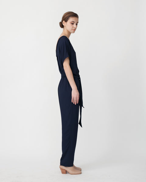 Mara Jumpsuit in Navy - Founders & Followers - Sessun - 2