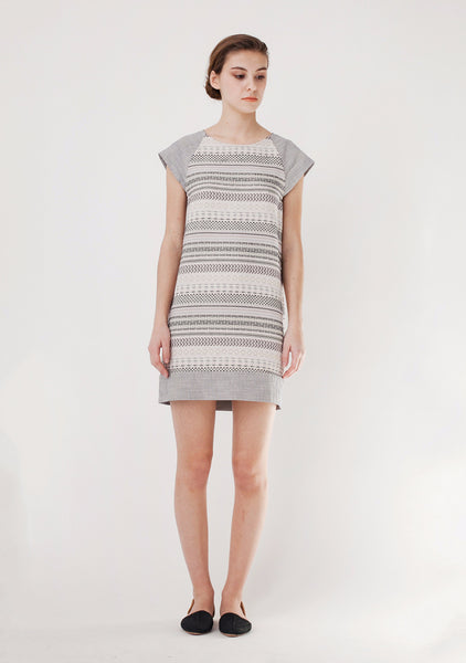 EdBell Dress in Alba Multicolor - Founders & Followers - Sessun - 1
