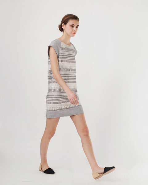 EdBell Dress in Alba Multicolor - Founders & Followers - Sessun - 5