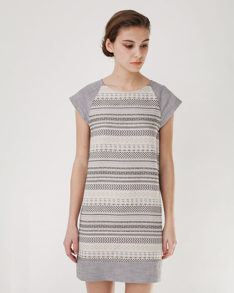 EdBell Dress in Alba Multicolor - Founders & Followers - Sessun - 6