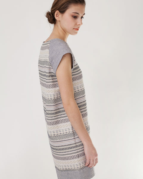 EdBell Dress in Alba Multicolor - Founders & Followers - Sessun - 7