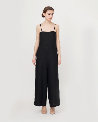 Lucia Jumpsuit in Black - Founders & Followers - Luisa et la luna - 1