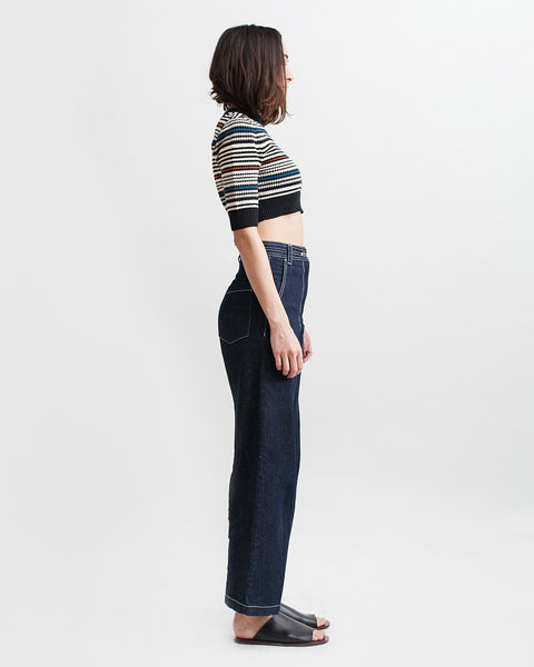 Bishop Pant in Dark Indigo - Founders & Followers - Rachel Comey - 7