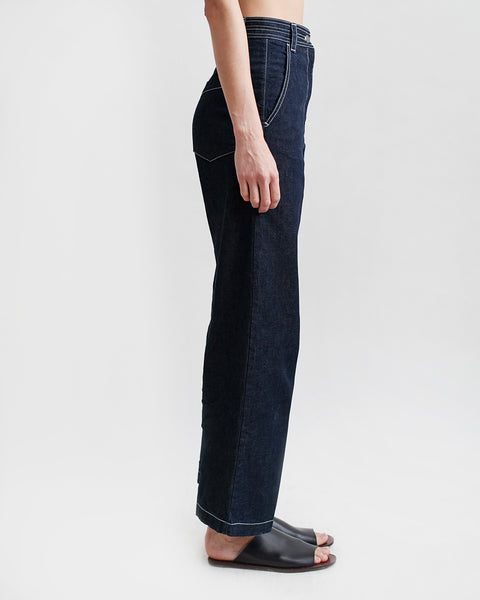 Bishop Pant in Dark Indigo - Founders & Followers - Rachel Comey - 2