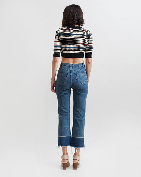 Slim Legion Denim Pant in indigo - Founders & Followers - Rachel Comey - 4