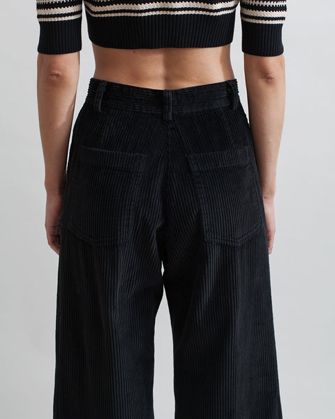 Bishop Pant in Black Corduroy - Founders & Followers - Rachel Comey - 6