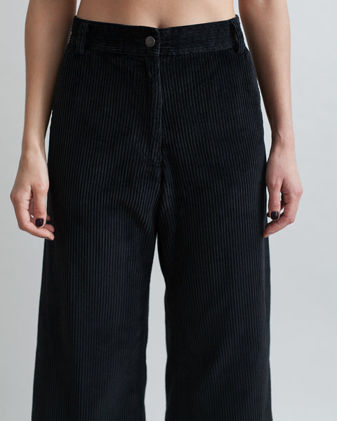 Bishop Pant in Black Corduroy - Founders & Followers - Rachel Comey - 8