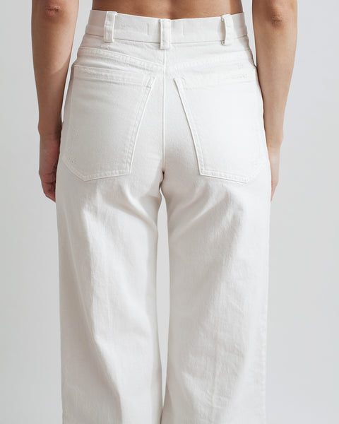 Legion Denim Pant in White - Founders & Followers - Rachel Comey - 3