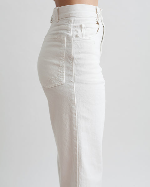 Legion Denim Pant in White - Founders & Followers - Rachel Comey - 4