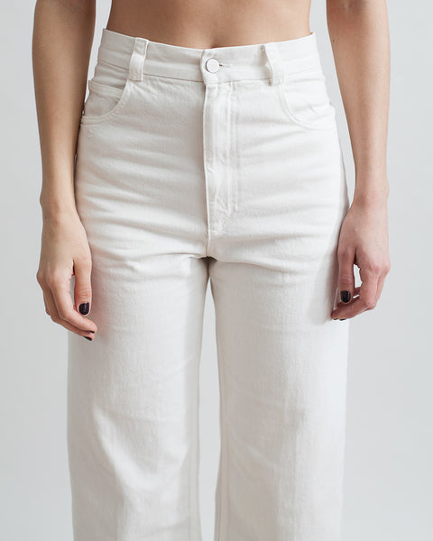 Legion Denim Pant in White - Founders & Followers - Rachel Comey - 5