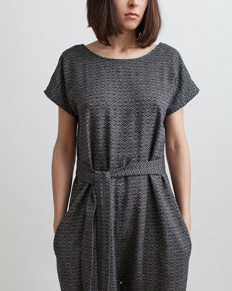Playsuit in Nightshade - Founders & Followers - Ace & Jig - 2