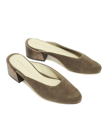 Leblon mules in brown - Founders & Followers - Mari Giudicelli - 1