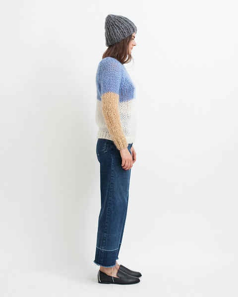 Mohair Colorblock Sweater - Founders & Followers - Maiami - 3