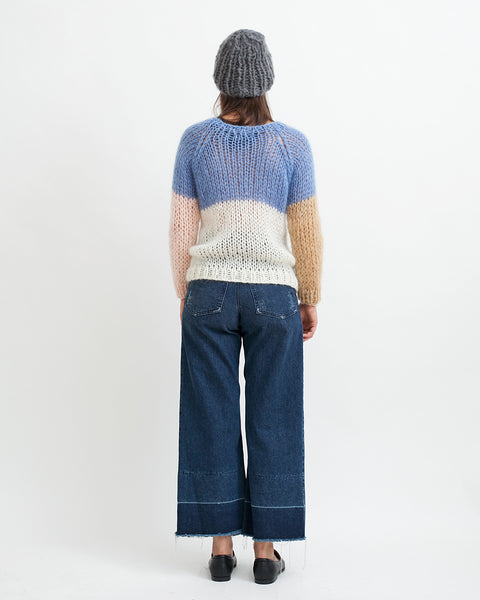 Mohair Colorblock Sweater - Founders & Followers - Maiami - 4