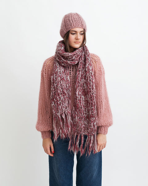 Mohair Melange Scarf - Founders & Followers - Maiami - 2
