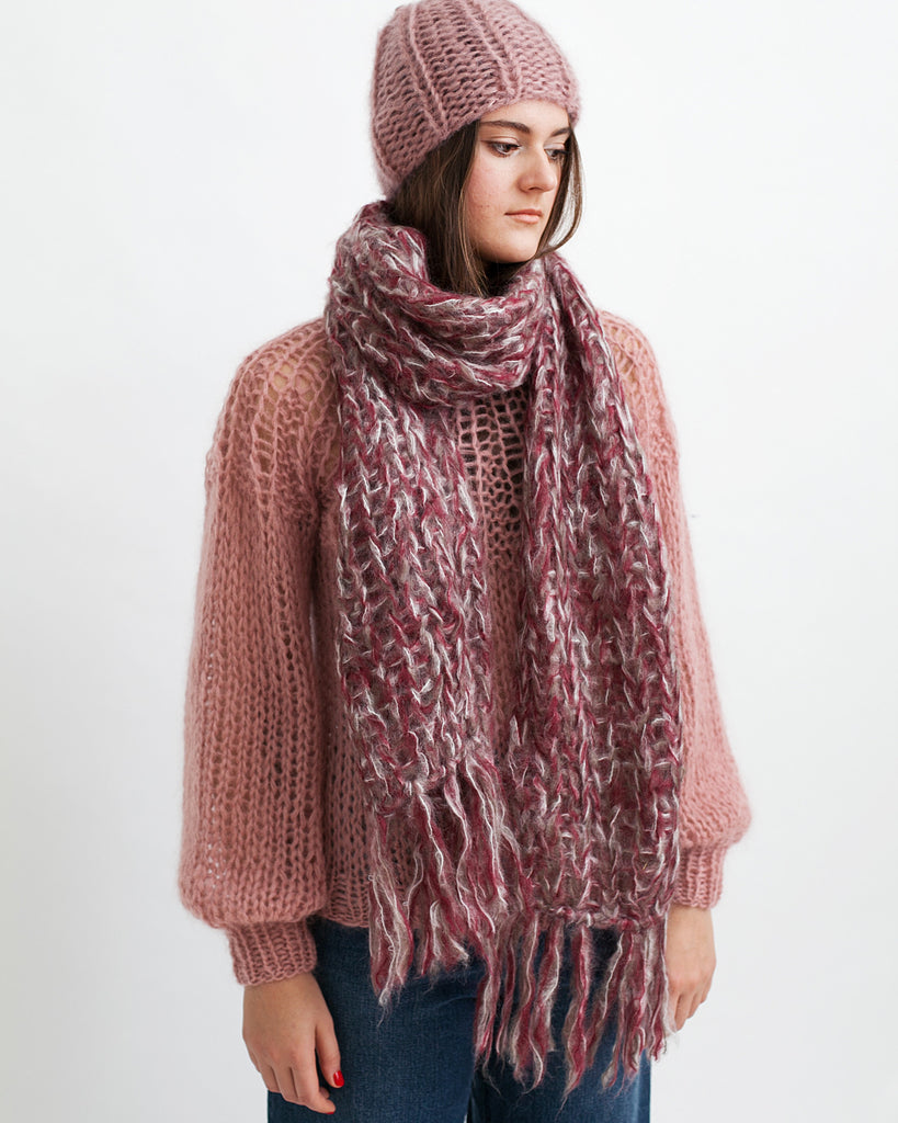 Mohair Melange Scarf - Founders & Followers - Maiami - 1