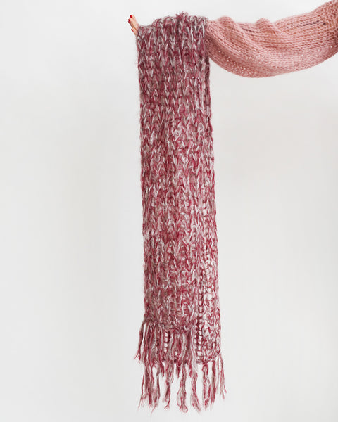 Mohair Melange Scarf - Founders & Followers - Maiami - 7