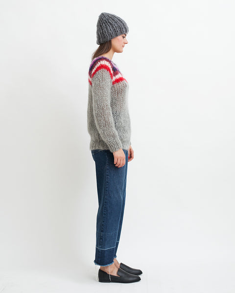 Mohair Campus Sweater - Founders & Followers - Maiami - 4
