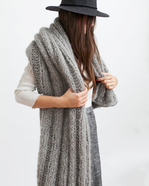 Mohair Shawl - Founders & Followers - Maiami - 5
