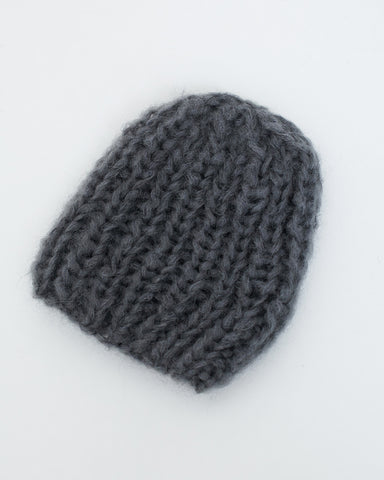 Mohair Basic Cap in Grey - Founders & Followers - Maiami - 1