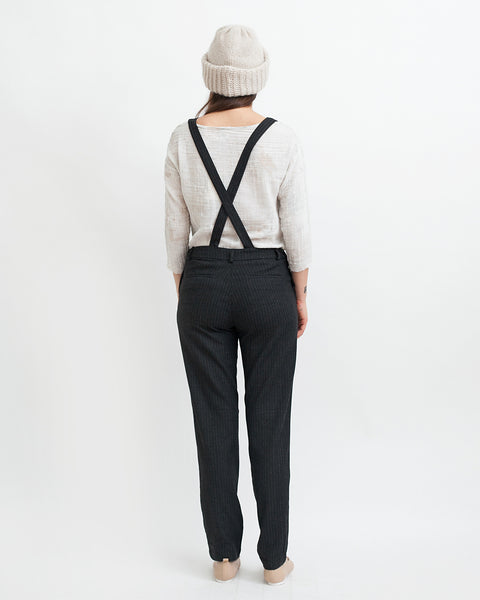 Amedeo Overalls in Black - Founders & Followers - Sessun - 3