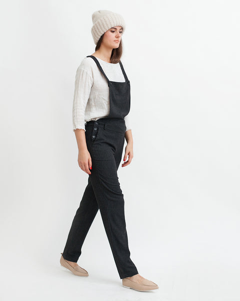 Amedeo Overalls in Black - Founders & Followers - Sessun - 4
