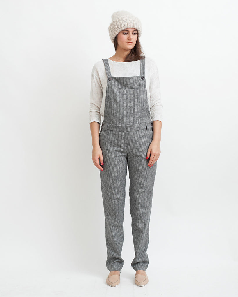 Amedeo Overalls in Grey - Founders & Followers - Sessun - 1