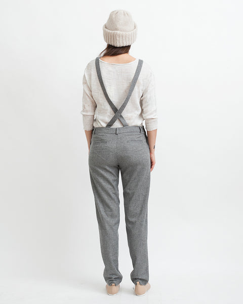 Amedeo Overalls in Grey - Founders & Followers - Sessun - 3