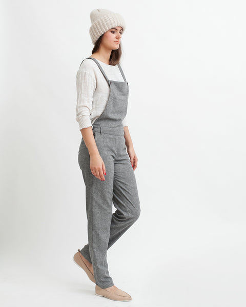 Amedeo Overalls in Grey - Founders & Followers - Sessun - 4