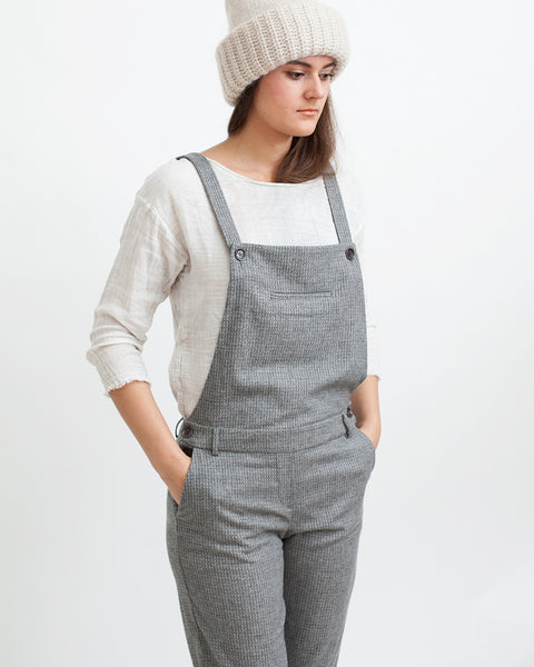Amedeo Overalls in Grey - Founders & Followers - Sessun - 5