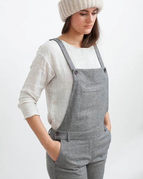 Amedeo Overalls in Grey - Founders & Followers - Sessun - 6