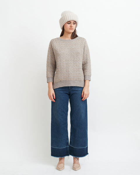 Little Diamonds Alpaca Lurex Sweater - Founders & Followers - Sessun - 2