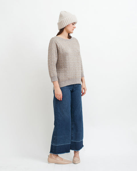 Little Diamonds Alpaca Lurex Sweater - Founders & Followers - Sessun - 3