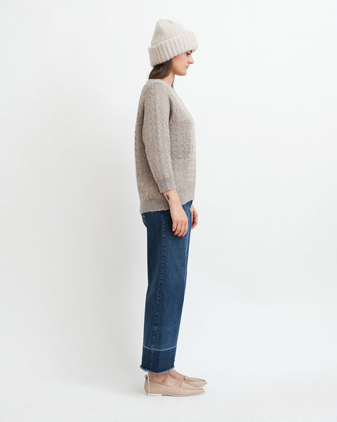 Little Diamonds Alpaca Lurex Sweater - Founders & Followers - Sessun - 4