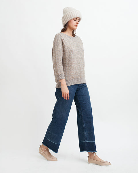 Little Diamonds Alpaca Lurex Sweater - Founders & Followers - Sessun - 6