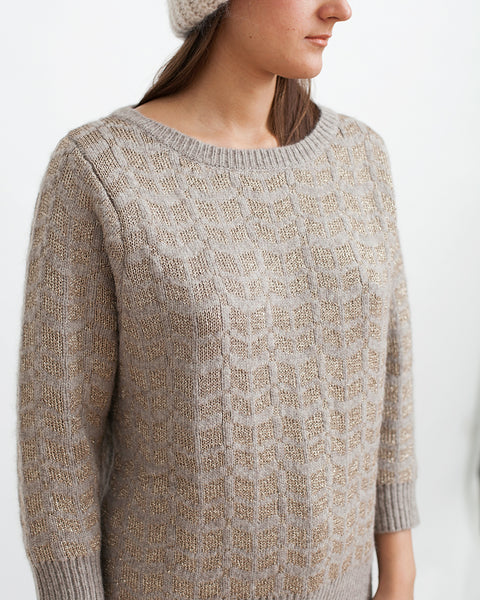 Little Diamonds Alpaca Lurex Sweater - Founders & Followers - Sessun - 7