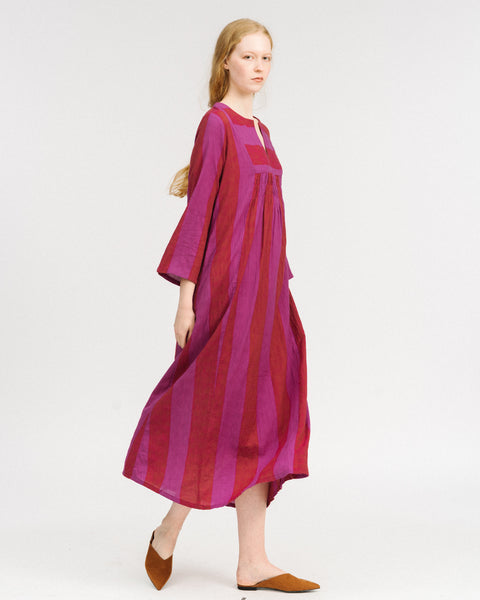 Isa dress in orchid