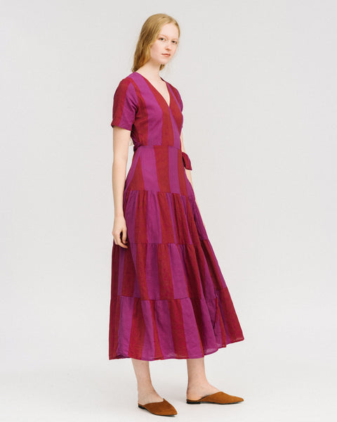 Ellis dress in orchid