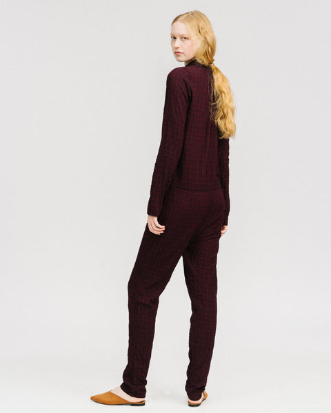Aurie jumpsuit in wine