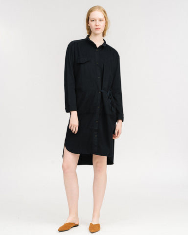 Elna shirt dress in ink