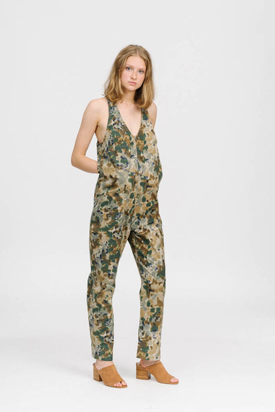 Buxton jumpsuit in camo