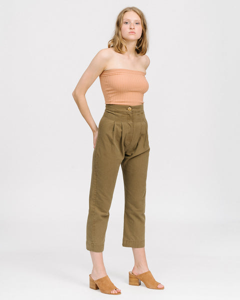 Gallo pants in Umber