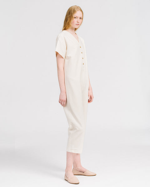Henry coverall in cream