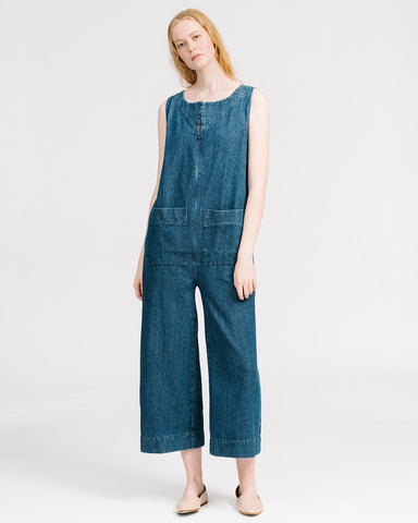 Geneva jumpsuit in denim