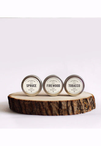 Man Candle Set - Founders & Followers - Brooklyn Candle Studio - 1