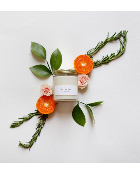 Rosemary Candle - Founders & Followers - Brooklyn Candle Studio - 3